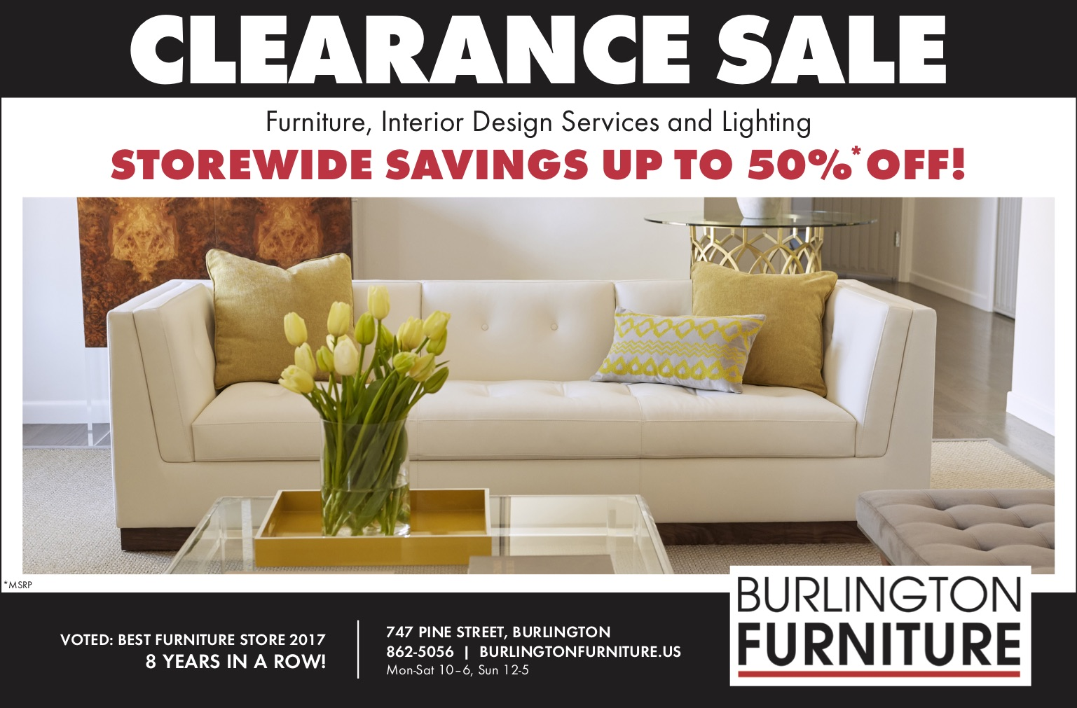 Furniture Clearance June 2018 Burlington Furniture